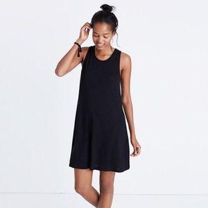 Madewell | Highpoint Tank Dress in Black